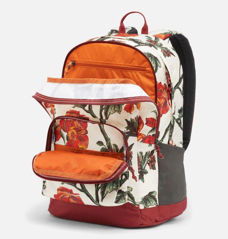 Zigzag™ 30L Backpack   191   O/S Zigzag™ 30L Backpack, Chalk Botanica, Marsala Red, a2