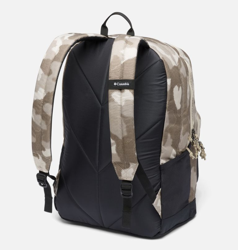 Zigzag™ 30L Backpack   271   O/S Zigzag™ 30L Backpack, Ancient Fossil Spotted Camo, Black, back