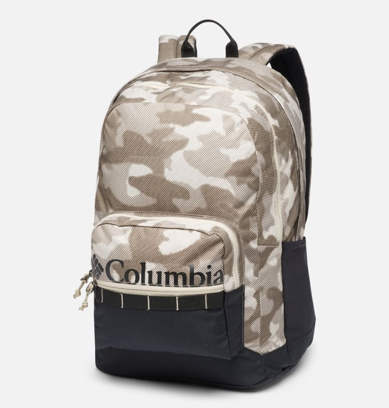 Zigzag™ 30L Backpack   271   O/S Zigzag™ 30L Backpack, Ancient Fossil Spotted Camo, Black, front