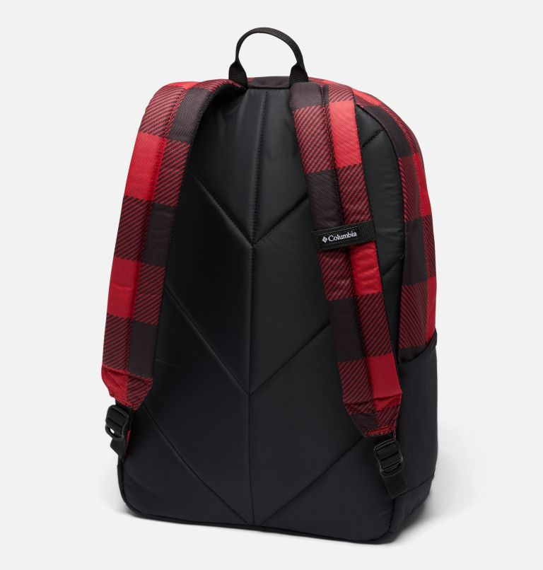 Zigzag™ 30L Backpack | 613 | O/S Zigzag™ 30L Backpack, Mountain Red Check Print, Black, back