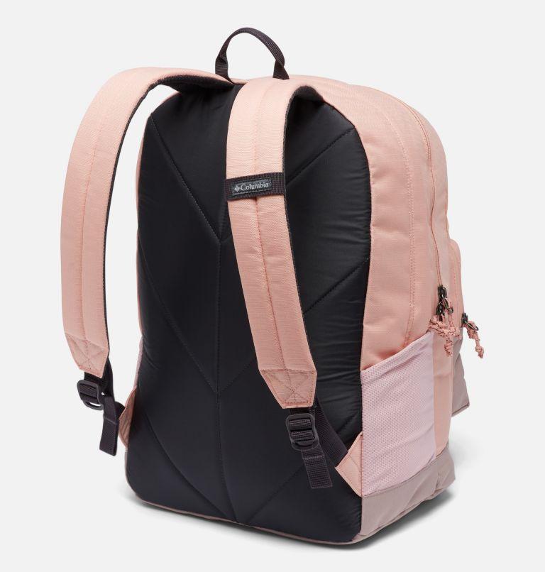 Zigzag™ 30L Backpack   672   O/S Zigzag™ 30L Backpack, Faux Pink, Mauve Vapor, back