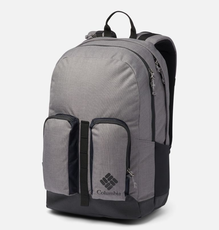 Zigzag™ 27L Backpack | 023 | O/S Zigzag™ 27L Backpack, City Grey Heather, Black, front