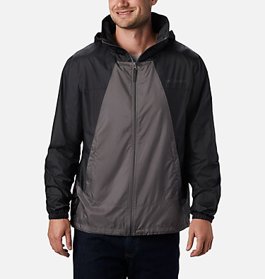 Men's Point Park™ Windbreaker Point Park™ Windbreaker | 023 | L, City Grey, Black, front