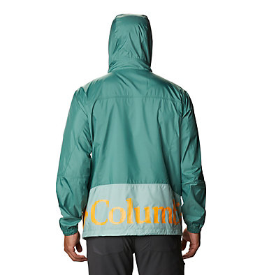 Men's Point Park™ Windbreaker Point Park™ Windbreaker | 023 | L, Aqua Tone, Thyme Green, back