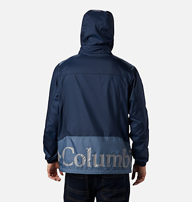 Men's Point Park™ Windbreaker Point Park™ Windbreaker | 023 | L, Mountain, Collegiate Navy, back