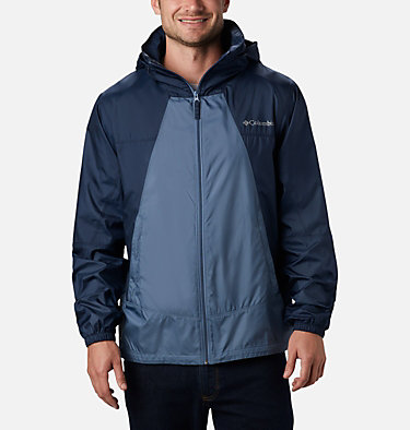 Men's Point Park™ Windbreaker Point Park™ Windbreaker | 023 | L, Mountain, Collegiate Navy, front