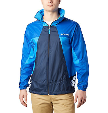 Men's Point Park™ Windbreaker Point Park™ Windbreaker | 023 | L, Collegiate Navy, Azul, Azure Blue, front