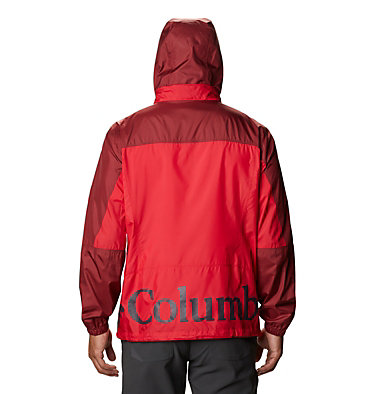 Men's Point Park™ Windbreaker Point Park™ Windbreaker | 023 | L, Mountain Red, Red Jasper, back