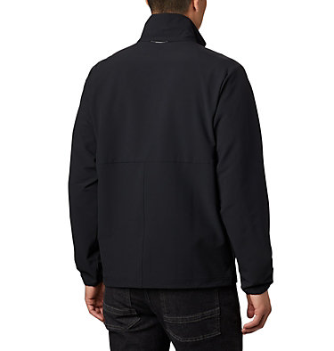 Men's Heather Canyon™ Hoodless Jacket Heather Canyon™ Non Hooded Jacket | 011 | L, Black, back