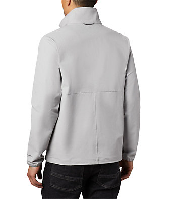 Men's Heather Canyon™ Hoodless Jacket Heather Canyon™ Non Hooded Jacket | 011 | L, Columbia Grey Heather, back