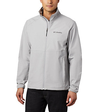 Men's Heather Canyon™ Hoodless Jacket Heather Canyon™ Non Hooded Jacket | 011 | L, Columbia Grey Heather, front