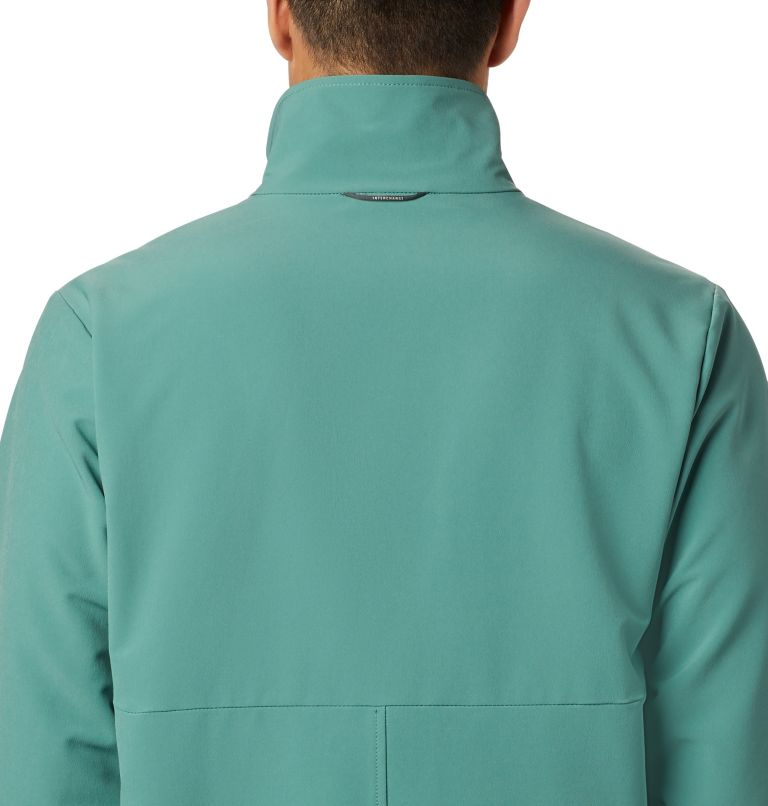 Heather Canyon™ Non Hooded Jacket | 369 | XXL Men's Heather Canyon™ Hoodless Jacket, Thyme Green, a3