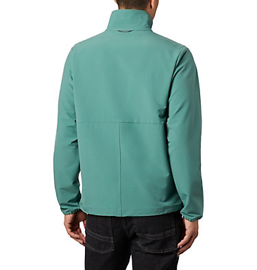Men's Heather Canyon™ Hoodless Jacket Heather Canyon™ Non Hooded Jacket | 011 | L, Thyme Green, back