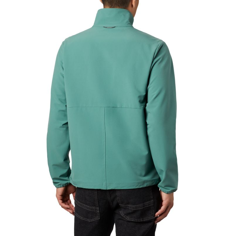 Heather Canyon™ Non Hooded Jacket | 369 | XXL Men's Heather Canyon™ Hoodless Jacket, Thyme Green, back