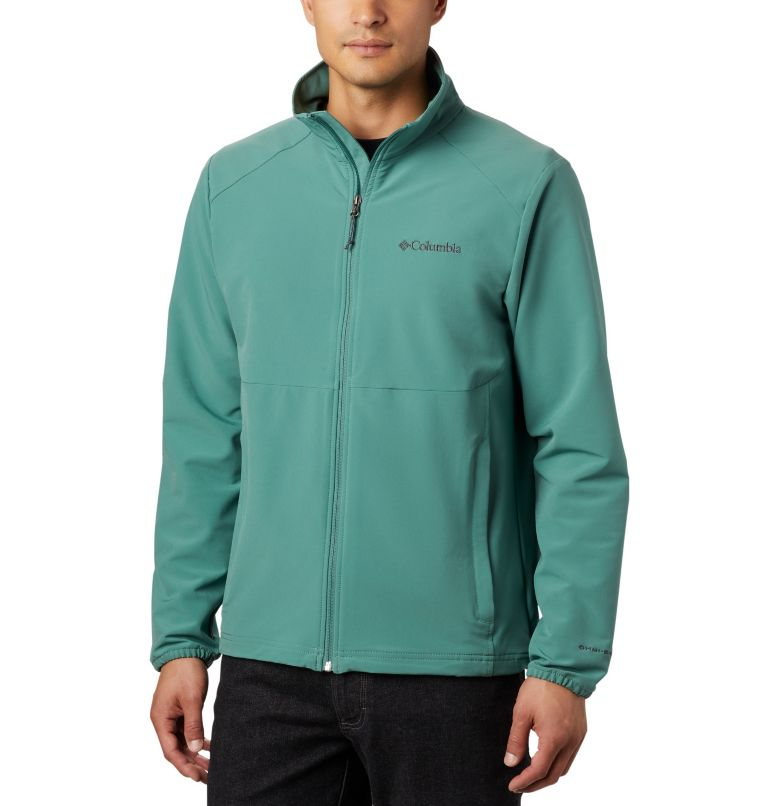 Heather Canyon™ Non Hooded Jacket | 369 | XXL Men's Heather Canyon™ Hoodless Jacket, Thyme Green, front