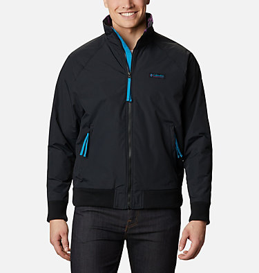 Men's Falmouth™ Jacket Falmouth™ Jacket | 374 | XXL, Black, Fjord Blue, front