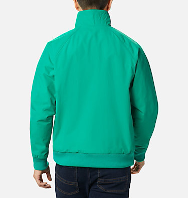 Men's Falmouth™ Jacket Falmouth™ Jacket | 673 | XXL, Emerald Green, Bright Geranium, back