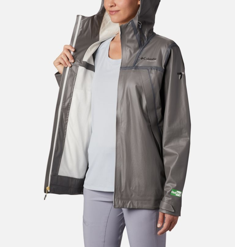 OutDry Ex™ ECO Shell | 023 | M Women's OutDry™ Ex Eco Shell, City Grey, a3