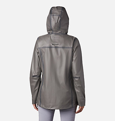 Manteau OutDry™ Ex Eco pour femme OutDry Ex™ ECO Shell | 023 | L, City Grey, back