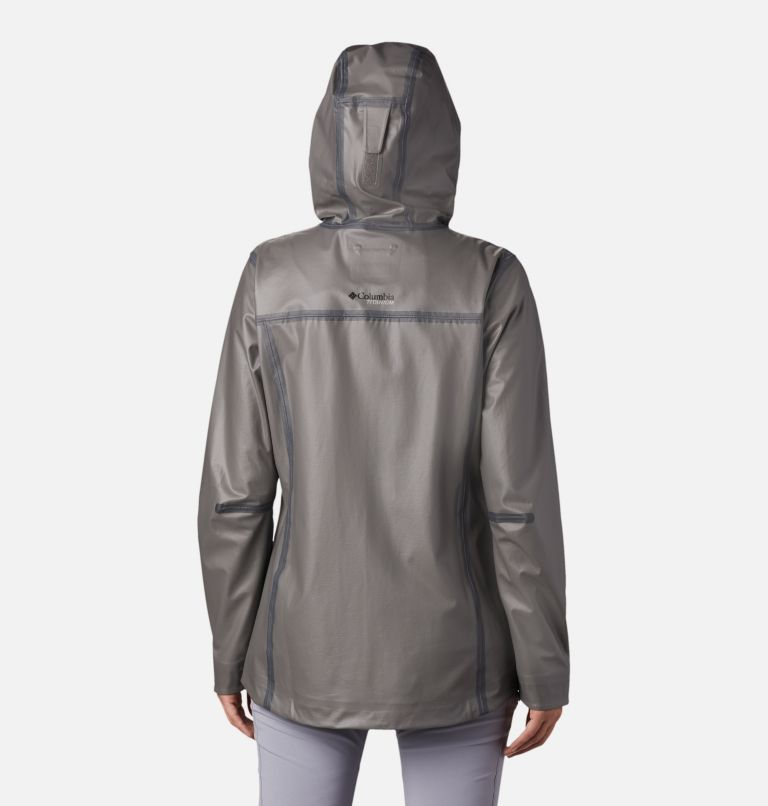 OutDry Ex™ ECO Shell | 023 | M Women's OutDry™ Ex Eco Shell, City Grey, back