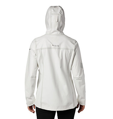 Manteau OutDry™ Ex Eco pour femme OutDry Ex™ ECO Shell | 023 | L, White Undyed Energy, back