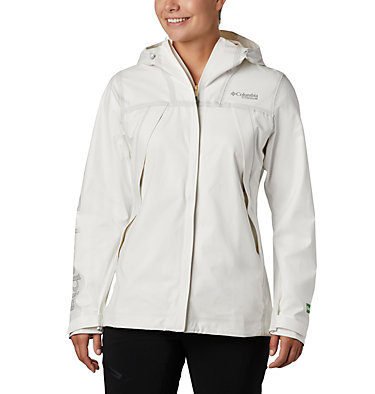Women's OutDry™ Ex Eco Shell OutDry Ex™ ECO Shell | 023 | L, White Undyed Energy, front