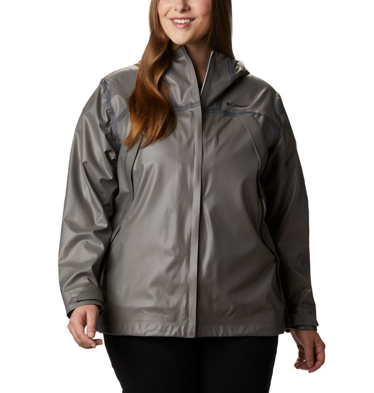Women's OutDry™ Ex Eco Shell - Plus Size Women's OutDry™ Ex Eco Shell - Plus Size, front