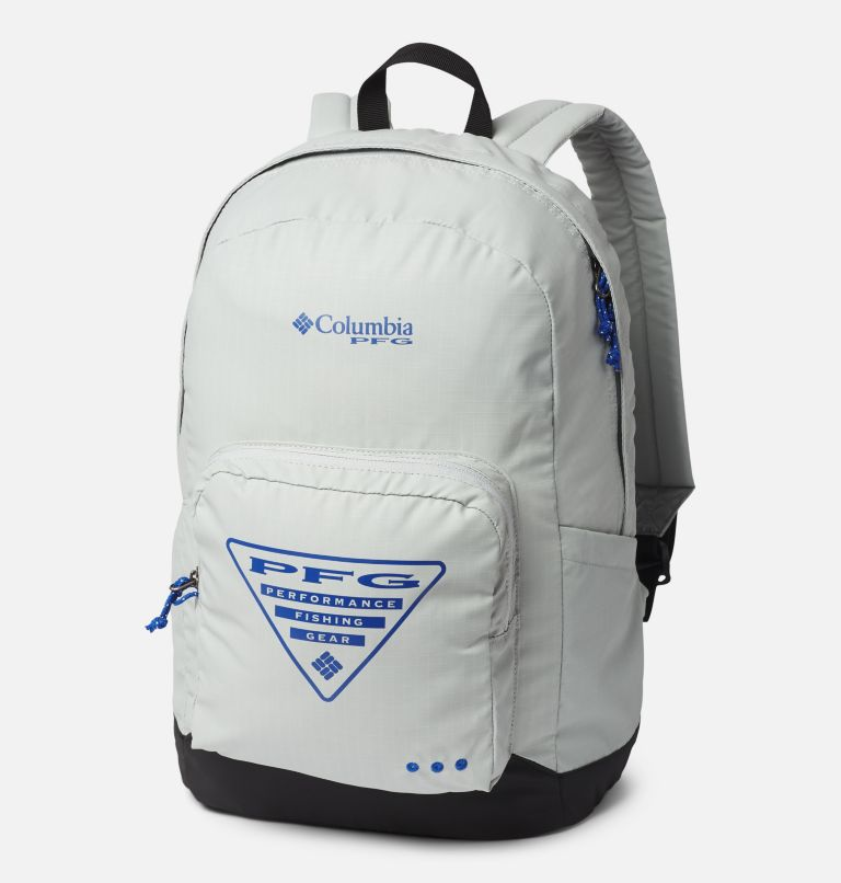 PFG Zigzag™ 22L Backpack   019   O/S PFG Zigzag™ 22L Backpack, Cool Grey, Black, front