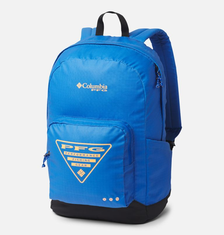 PFG Zigzag™ 22L Backpack | 487 | O/S PFG Zigzag™ 22L Backpack, Vivid Blue, Black, front