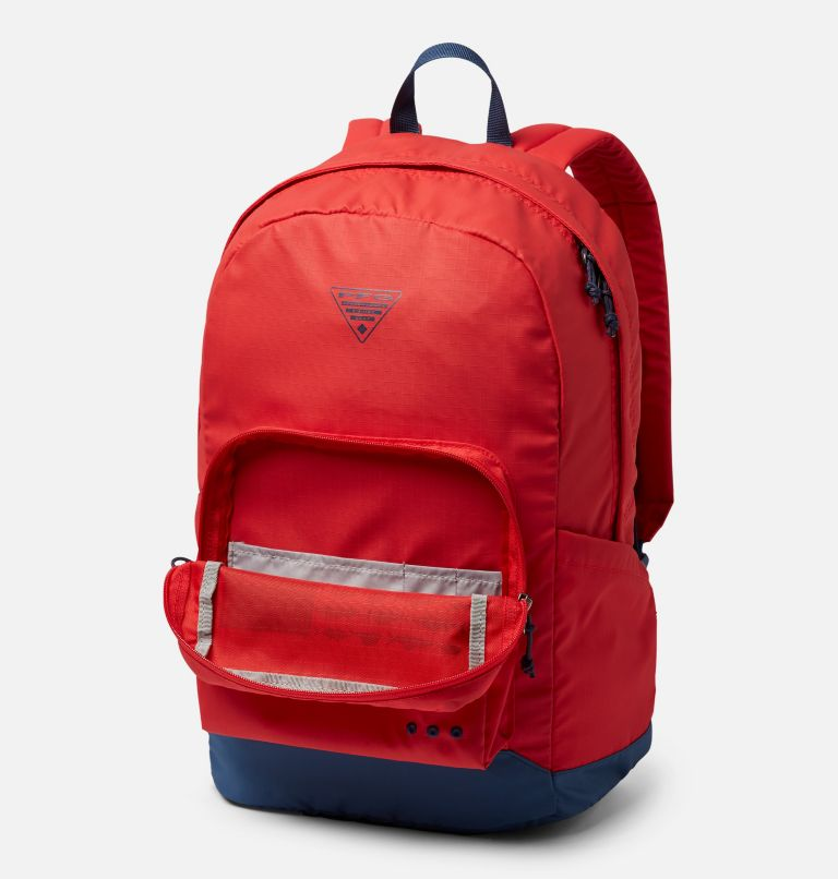 PFG Zigzag™ 22L Backpack | 696 | O/S PFG Zigzag™ 22L Backpack, Red Spark, Carbon, a1