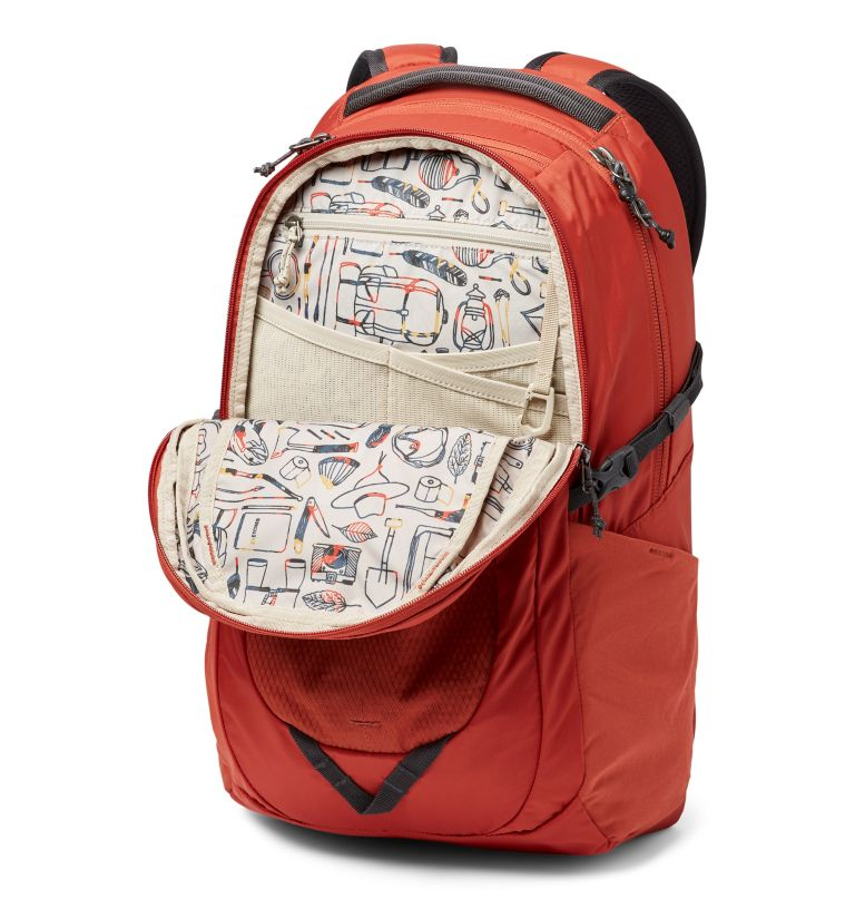 Hawthorne™ 30L Backpack   835   O/S Hawthorne™ 30L Backpack, Carnelian Red, a1
