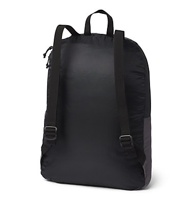 Sac À Dos Compactable Léger 21 Litres Lightweight Packable 21L Backpack | 039 | O/S, Black, City Grey, back
