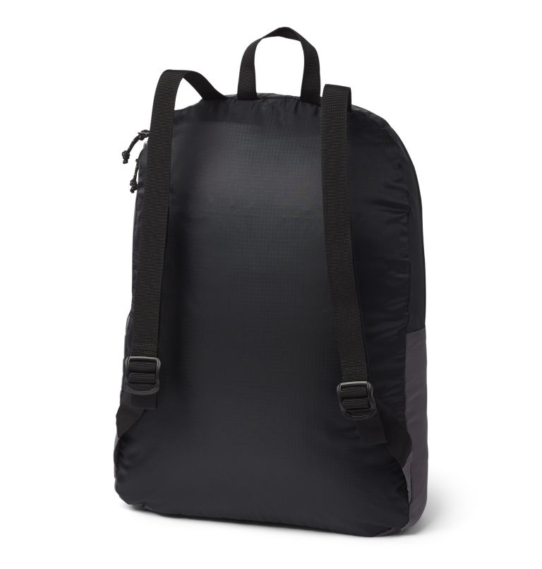 Lightweight Packable 21L Backpack | 010 | O/S Sac à dos léger et compressible 21L, Black, City Grey, back