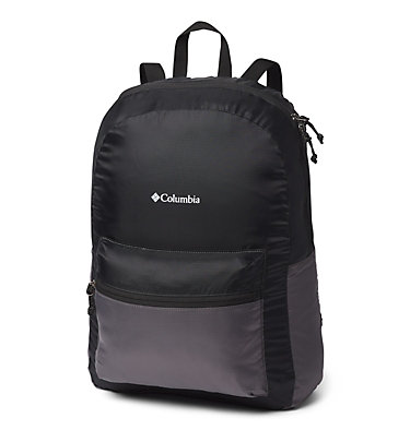 Lightweight Packable 21L Backpack Lightweight Packable 21L Backpack | 039 | O/S, Black, City Grey, front