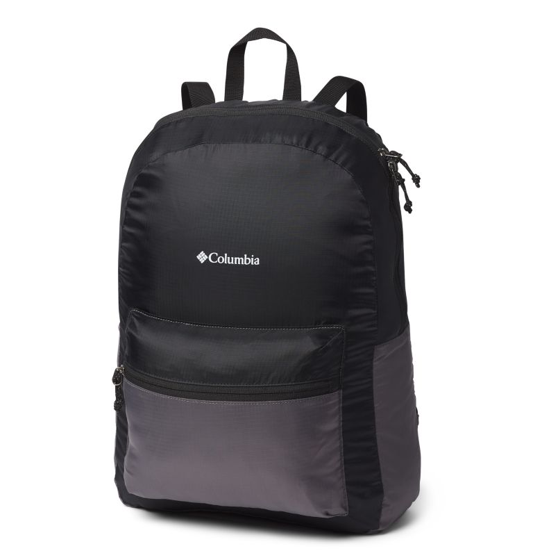 Lightweight Packable 21L Backpack | 010 | O/S Sac à dos léger et compressible 21L, Black, City Grey, front