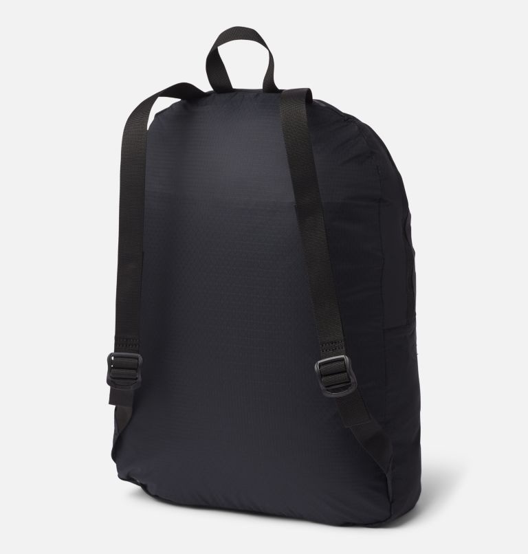 Lightweight Packable 21L Backpack | 011 | O/S Sac à dos léger et compressible 21L, Black, back