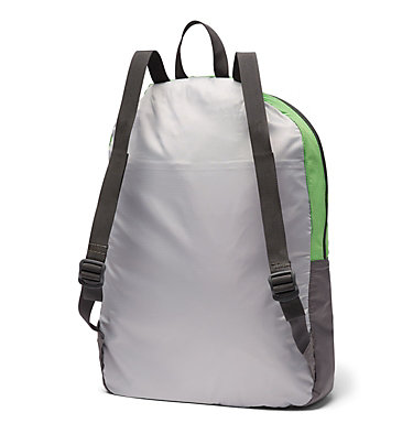 Lightweight Packable 21L Backpack Lightweight Packable 21L Backpack | 039 | O/S, Columbia Grey, Green Boa, back