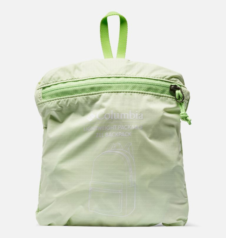 Lightweight Packable 21L Backpack | 313 | O/S Lightweight Packable 21L Backpack, Light Lime, a3