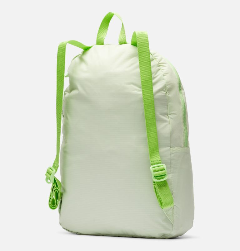 Lightweight Packable 21L Backpack | 313 | O/S Lightweight Packable 21L Backpack, Light Lime, back