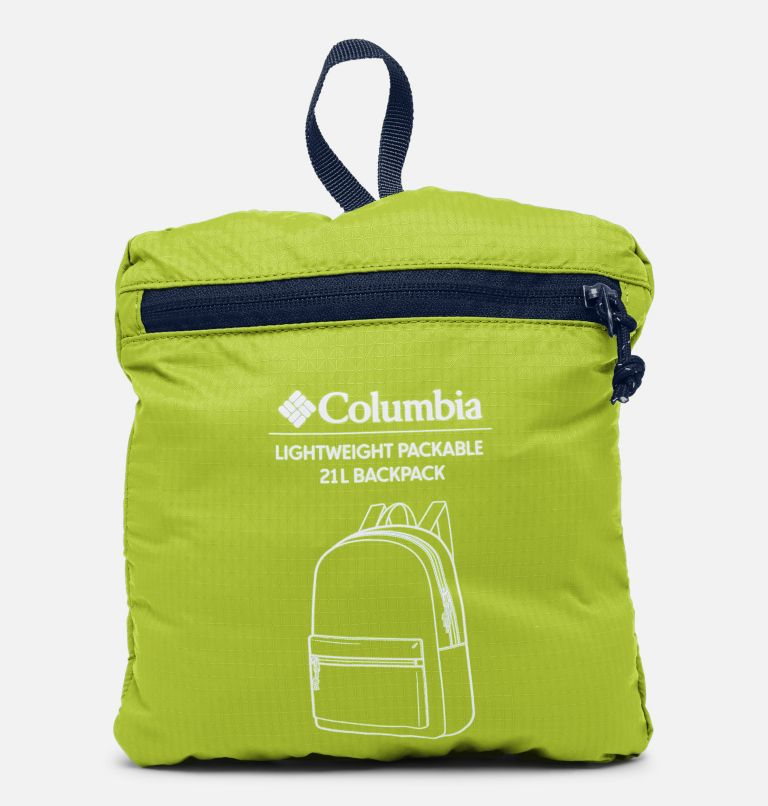 Lightweight Packable 21L Backpack | 386 | O/S Lightweight Packable 21L Backpack, Bright Chartreuse, a3