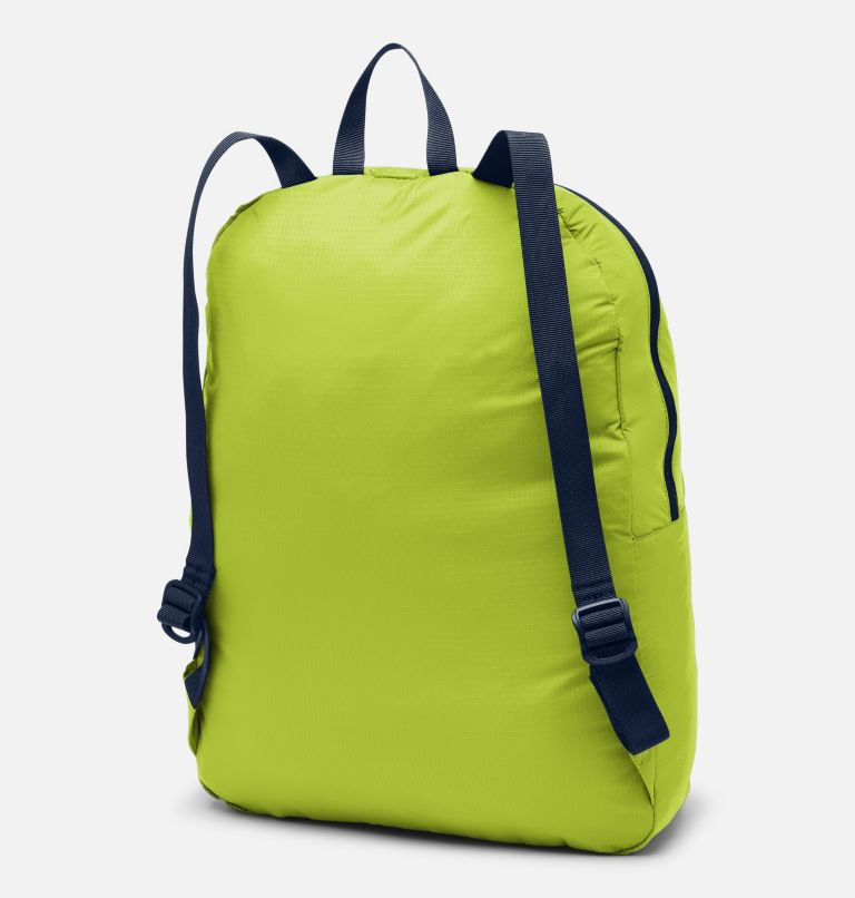 Lightweight Packable 21L Backpack | 386 | O/S Lightweight Packable 21L Backpack, Bright Chartreuse, back