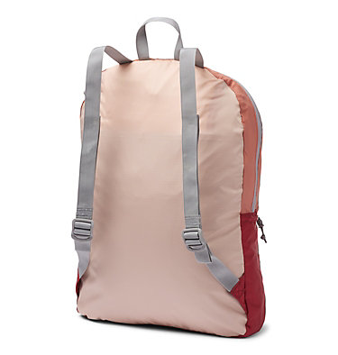 Sac À Dos Compactable Léger 21 Litres Lightweight Packable 21L Backpack | 039 | O/S, Peach Cloud, Dusty Crimson, back