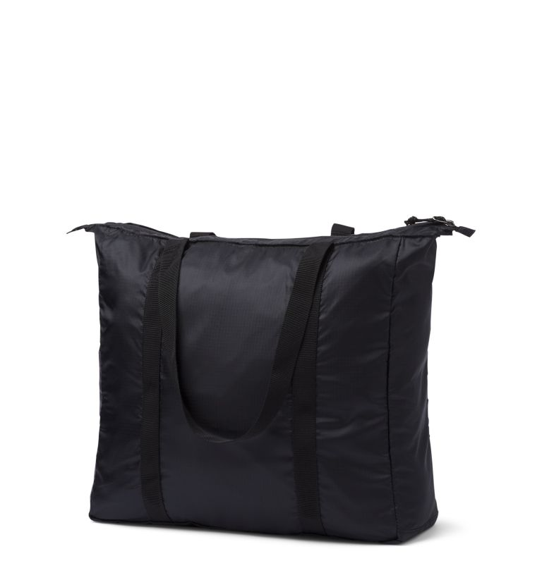 Lightweight Packable 21L Tote | 010 | O/S Unisex Lightweight Packable 18L Tote, Black, City Grey, back