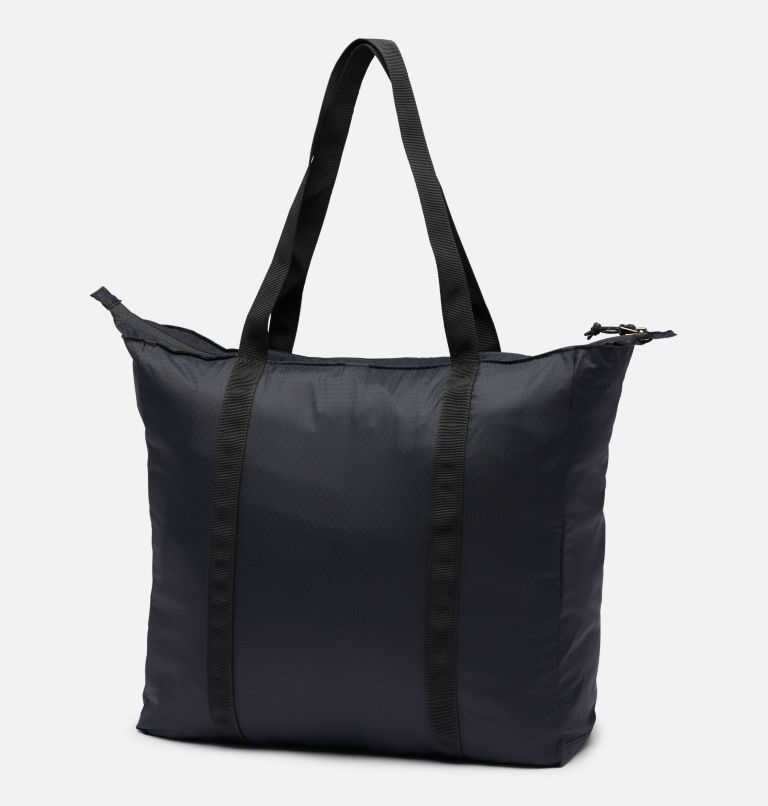 Lightweight Packable 21L Tote   011   O/S Unisex Lightweight Packable 18L Tote, Black, back