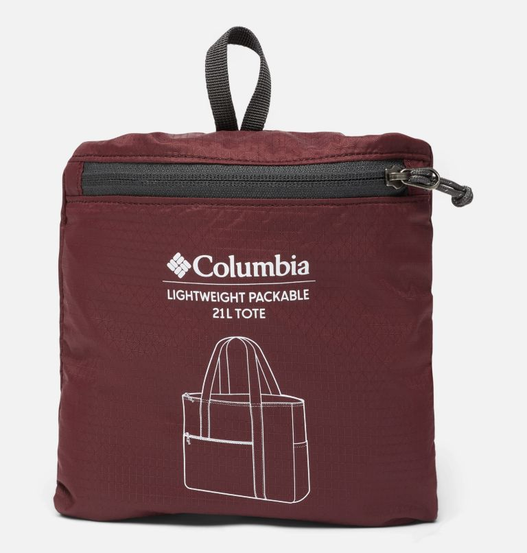 Lightweight Packable 21L Tote   671   O/S Unisex Lightweight Packable 18L Tote, Malbec, a2