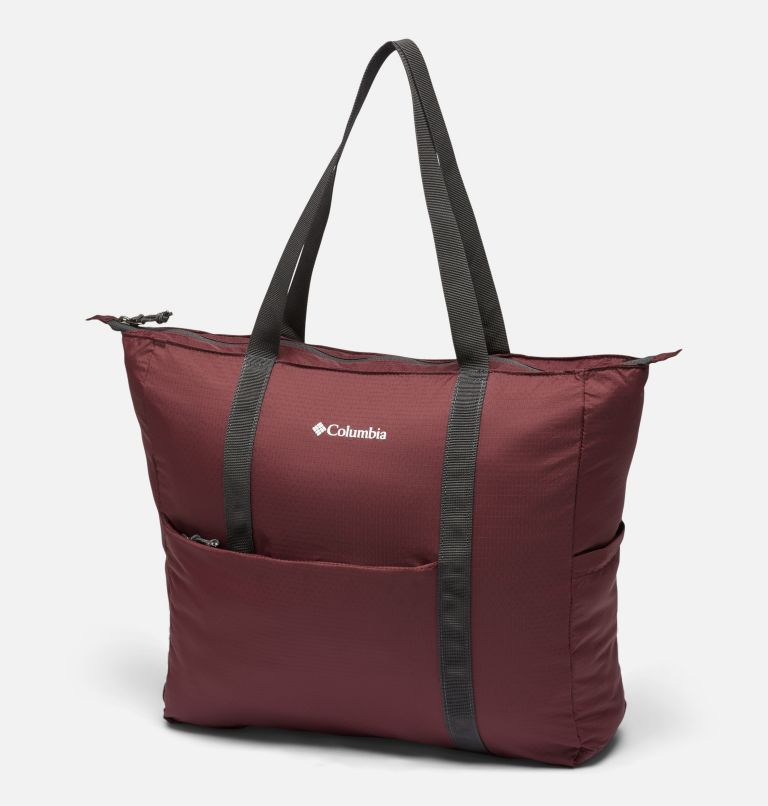 Lightweight Packable 21L Tote   671   O/S Unisex Lightweight Packable 18L Tote, Malbec, front