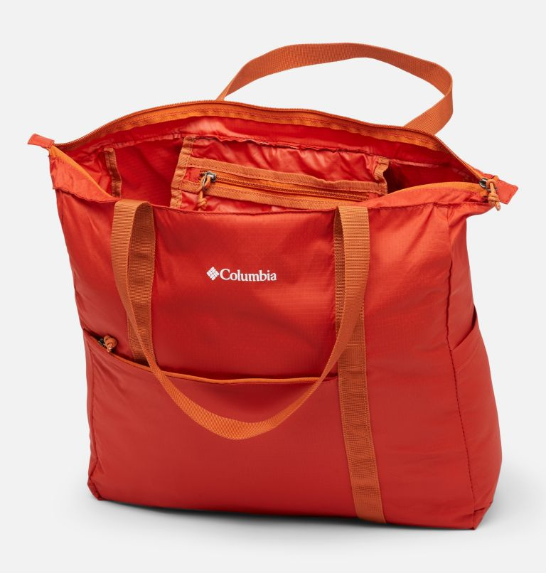 Lightweight Packable 21L Tote | 844 | O/S Unisex Lightweight Packable 18L Tote, Flame, a1