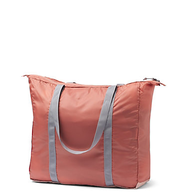 Unisex Lightweight Packable 18L Tote Lightweight Packable 21L Tote | 010 | O/S, Peach Cloud, Dusty Crimson, back