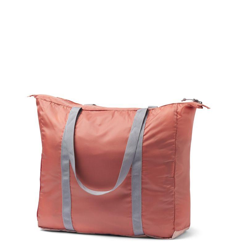 Lightweight Packable 21L Tote | 870 | O/S Borsa leggera e ripiegabile da 18 litri, Peach Cloud, Dusty Crimson, back