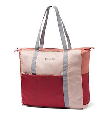 Unisex Lightweight Packable 18L Tote Lightweight Packable 21L Tote | 010 | O/S, Peach Cloud, Dusty Crimson, front